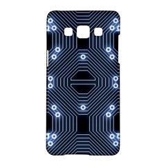 A Completely Seamless Tile Able Techy Circuit Background Samsung Galaxy A5 Hardshell Case