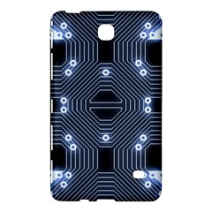 A Completely Seamless Tile Able Techy Circuit Background Samsung Galaxy Tab 4 (8 ) Hardshell Case