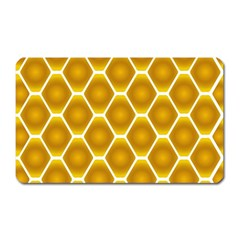 Snake Abstract Background Pattern Magnet (Rectangular)