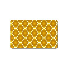 Snake Abstract Background Pattern Magnet (Name Card)