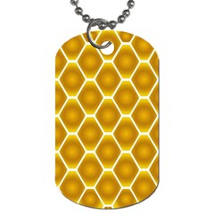 Snake Abstract Background Pattern Dog Tag (one Side)