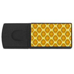 Snake Abstract Background Pattern USB Flash Drive Rectangular (1 GB)
