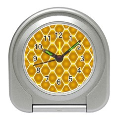 Snake Abstract Background Pattern Travel Alarm Clocks