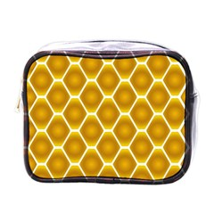 Snake Abstract Background Pattern Mini Toiletries Bags