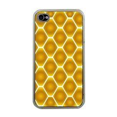 Snake Abstract Background Pattern Apple iPhone 4 Case (Clear)