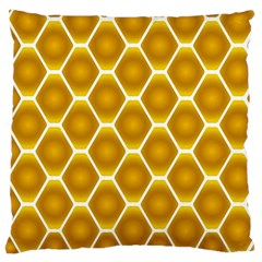 Snake Abstract Background Pattern Large Cushion Case (One Side)