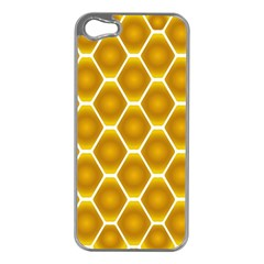 Snake Abstract Background Pattern Apple iPhone 5 Case (Silver)