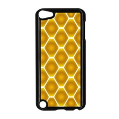 Snake Abstract Background Pattern Apple iPod Touch 5 Case (Black)