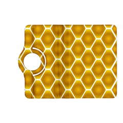 Snake Abstract Background Pattern Kindle Fire HD (2013) Flip 360 Case