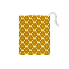 Snake Abstract Background Pattern Drawstring Pouches (Small)