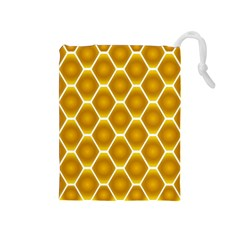 Snake Abstract Background Pattern Drawstring Pouches (Medium)