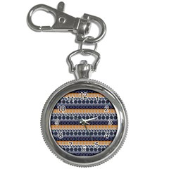 Seamless Abstract Elegant Background Pattern Key Chain Watches