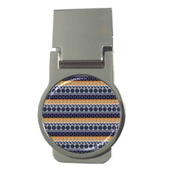 Seamless Abstract Elegant Background Pattern Money Clips (Round)