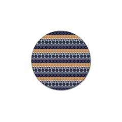 Seamless Abstract Elegant Background Pattern Golf Ball Marker (10 pack)