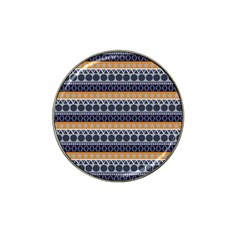 Seamless Abstract Elegant Background Pattern Hat Clip Ball Marker