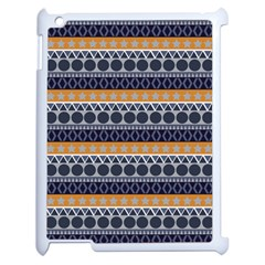 Seamless Abstract Elegant Background Pattern Apple Ipad 2 Case (white)