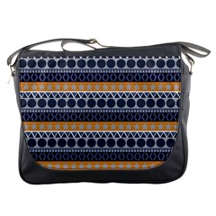 Seamless Abstract Elegant Background Pattern Messenger Bags