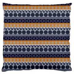 Seamless Abstract Elegant Background Pattern Large Cushion Case (One Side)