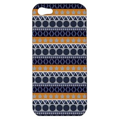 Seamless Abstract Elegant Background Pattern Apple iPhone 5 Hardshell Case