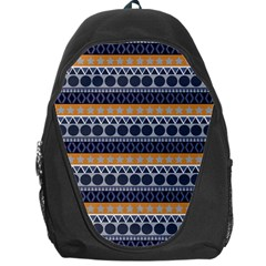 Seamless Abstract Elegant Background Pattern Backpack Bag