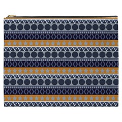 Seamless Abstract Elegant Background Pattern Cosmetic Bag (XXXL)