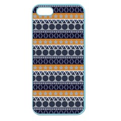 Seamless Abstract Elegant Background Pattern Apple Seamless iPhone 5 Case (Color)
