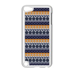 Seamless Abstract Elegant Background Pattern Apple iPod Touch 5 Case (White)