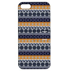 Seamless Abstract Elegant Background Pattern Apple iPhone 5 Hardshell Case with Stand