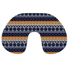 Seamless Abstract Elegant Background Pattern Travel Neck Pillows