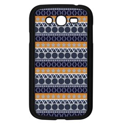 Seamless Abstract Elegant Background Pattern Samsung Galaxy Grand DUOS I9082 Case (Black)