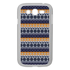 Seamless Abstract Elegant Background Pattern Samsung Galaxy Grand DUOS I9082 Case (White)