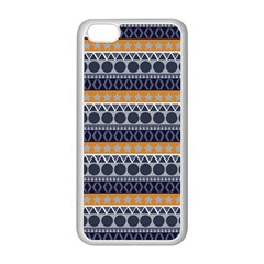 Seamless Abstract Elegant Background Pattern Apple iPhone 5C Seamless Case (White)