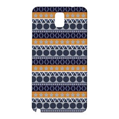 Seamless Abstract Elegant Background Pattern Samsung Galaxy Note 3 N9005 Hardshell Back Case