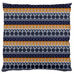 Seamless Abstract Elegant Background Pattern Large Flano Cushion Case (One Side)
