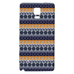 Seamless Abstract Elegant Background Pattern Galaxy Note 4 Back Case