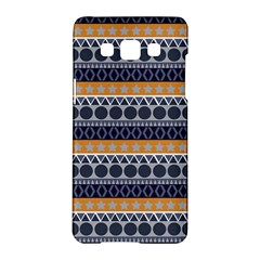 Seamless Abstract Elegant Background Pattern Samsung Galaxy A5 Hardshell Case