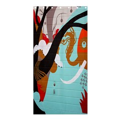 Colorful Graffiti In Amsterdam Shower Curtain 36  X 72  (stall)
