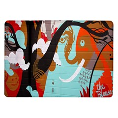 Colorful Graffiti In Amsterdam Samsung Galaxy Tab 10.1  P7500 Flip Case