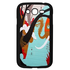 Colorful Graffiti In Amsterdam Samsung Galaxy Grand DUOS I9082 Case (Black)