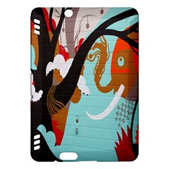 Colorful Graffiti In Amsterdam Kindle Fire HDX Hardshell Case