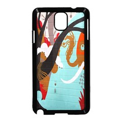 Colorful Graffiti In Amsterdam Samsung Galaxy Note 3 Neo Hardshell Case (Black)