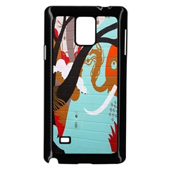 Colorful Graffiti In Amsterdam Samsung Galaxy Note 4 Case (black)