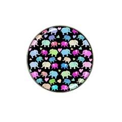 Cute elephants  Hat Clip Ball Marker