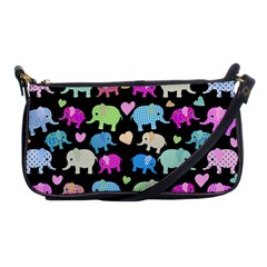 Cute elephants  Shoulder Clutch Bags