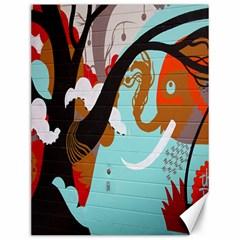 Colorful Graffiti In Amsterdam Canvas 12  X 16