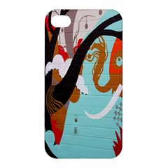 Colorful Graffiti In Amsterdam Apple iPhone 4/4S Premium Hardshell Case