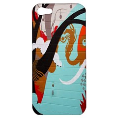 Colorful Graffiti In Amsterdam Apple iPhone 5 Hardshell Case