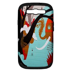 Colorful Graffiti In Amsterdam Samsung Galaxy S Iii Hardshell Case (pc+silicone)