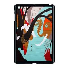 Colorful Graffiti In Amsterdam Apple Ipad Mini Case (black)