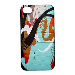 Colorful Graffiti In Amsterdam Apple iPhone 4/4S Hardshell Case with Stand
